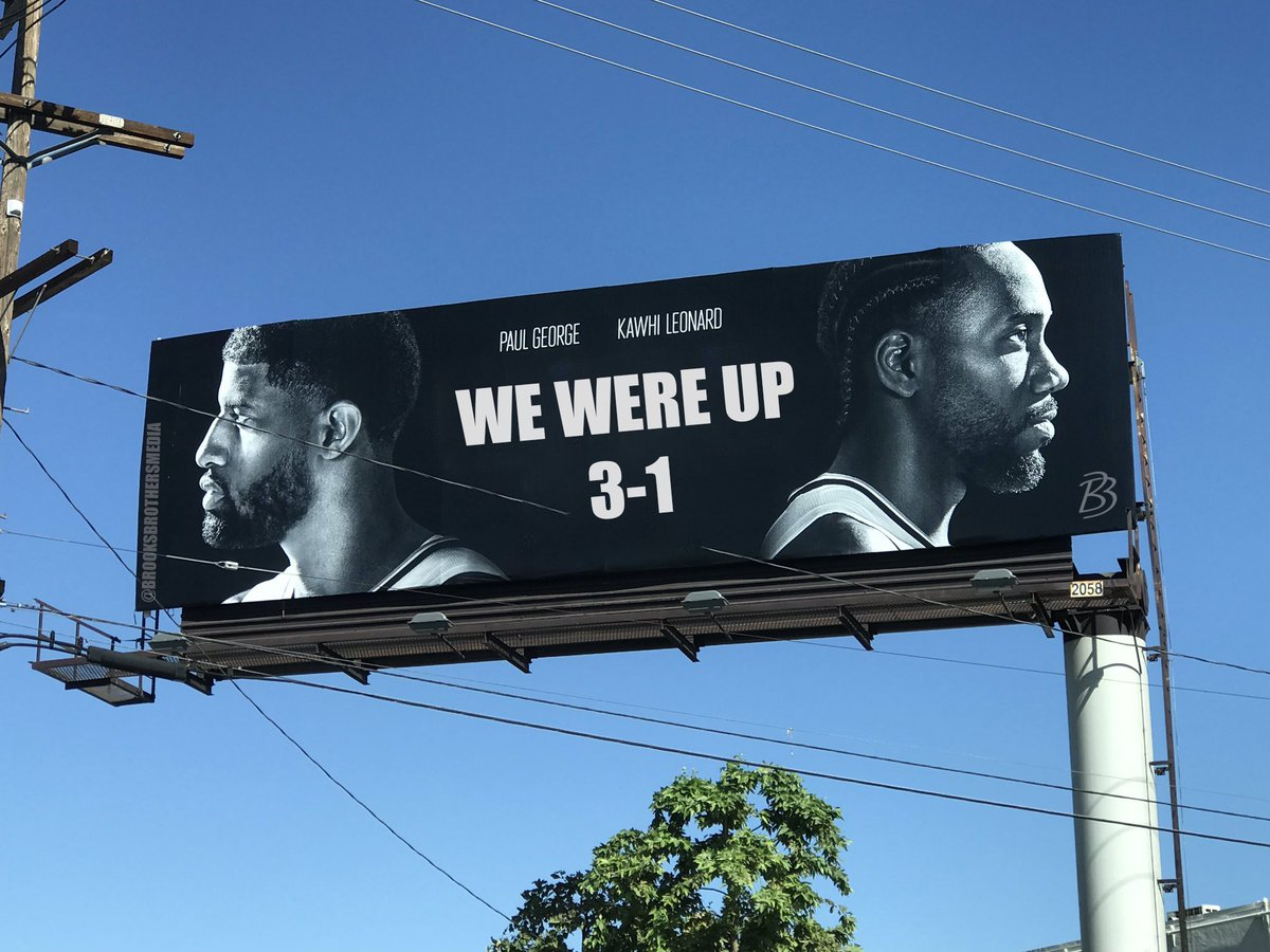 New billboard in Inglewood. @LAClippers https://t.co/CkGBPvHzuS