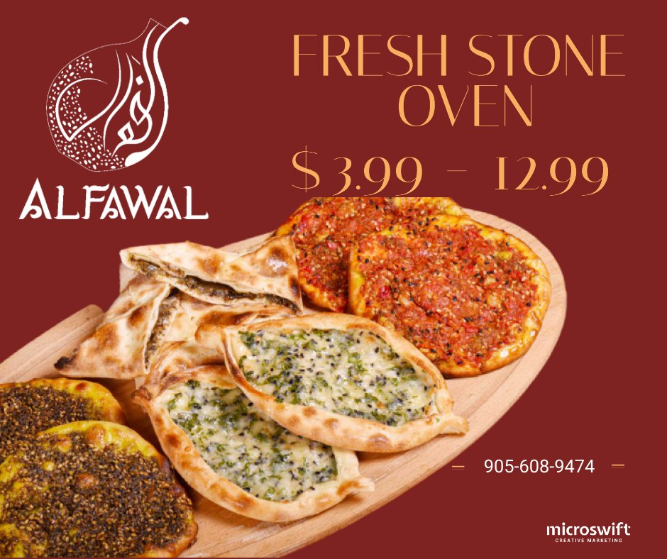 Straight from our stone oven to your table, Fresh baked goods using the traditional and original way of baking 👨‍🍳 . https://t.co/gFfJXcherr .   #AlFawal #Delivery #pickup #Restaurant #Mississauga #takeout #Skipthedishes #dinner #kabab #food https://t.co/weCvs3I698