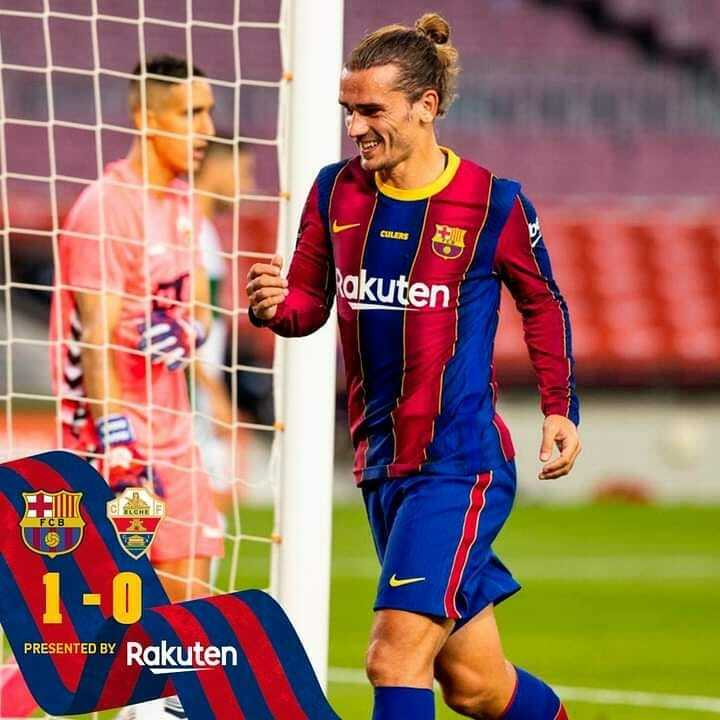 🔚 Preseason is over! 🏁 Barça 1-0 Elche ⚽ Griezmann 💙❤️ #forcabarca   Barcelona-Barca Page: https://t.co/ZWP88vMtBu Barcelona-Barca Instagram: https://t.co/nfYiLeAKIN Barcelona-Barca Twitter: https://t.co/iS9JvueU7Q  #fcb #fcbarcelona #messi #barcelona #Barcelona-Barca #lm… https://t.co/fauzwE6Dmt