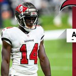 Image for the Tweet beginning: Buccaneers WR Chris Godwin ruled