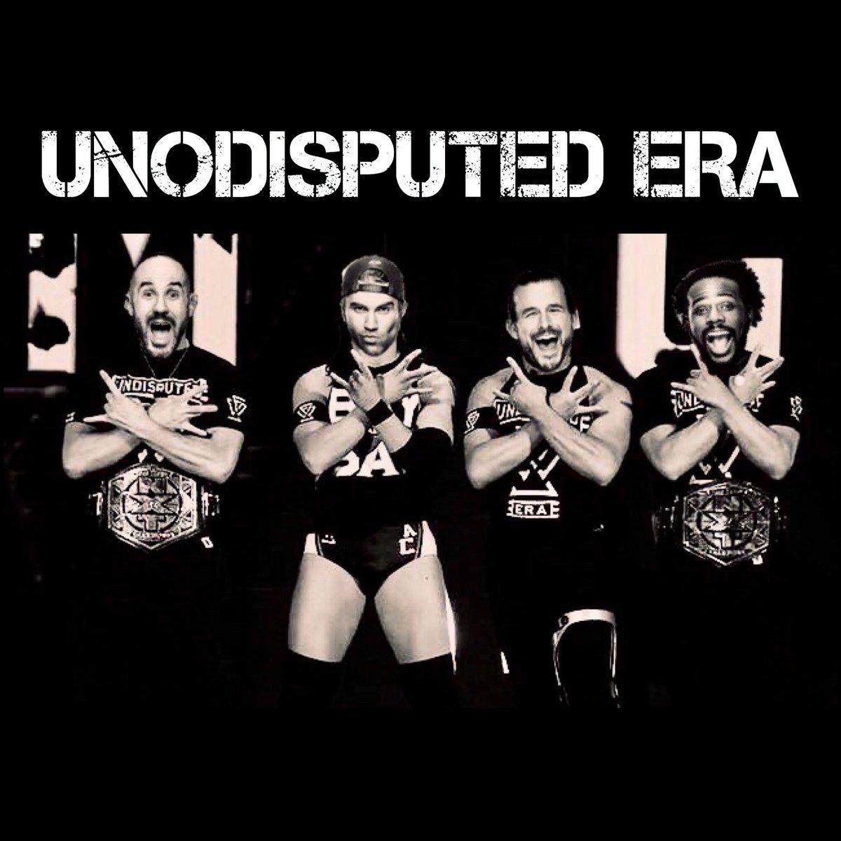 Hey @UpUpDwnDwn you should totally make these shirts on https://t.co/lGtF99m7kw @XavierWoodsPhD @AdamColePro @MmmGorgeous @WWECesaro #uno #daparty #UndisputedERA https://t.co/Jkq1N3KNdN