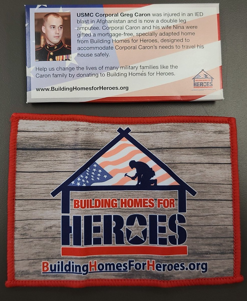 We have microfiber clothes for $10 that will help #BuildingHomesForHeroes  DM me if you have any questions Everyone we sell I'm going to donate $1 to #FeedingAmerica @VictraStore https://t.co/LmekJ49ltq