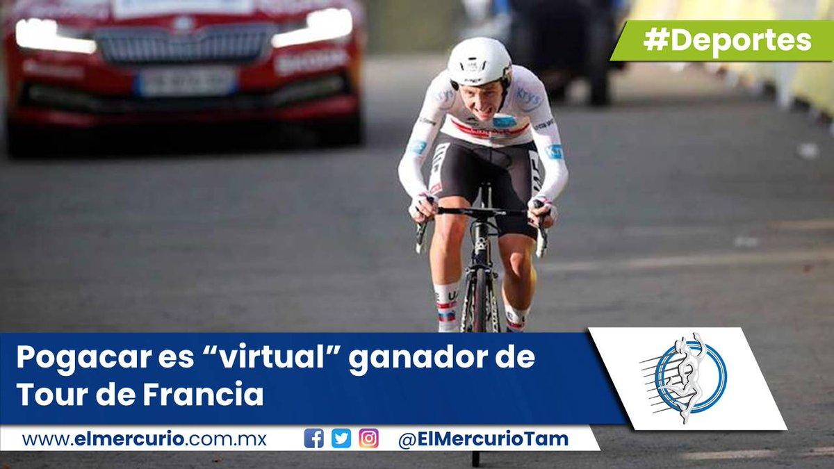 "#Deportes Pogacar es ""virtual"" ganador de Tour de Francia - https://t.co/oWoh9Tbr0f #Francia #Pogacar #TourFrancia https://t.co/xgEIBvzKKN"