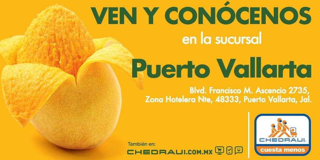 Ya puedes visitarnos en la sucursal #PuertoVallarta. En #Chedraui #CuestaMenos. https://t.co/FVoRfhre6c