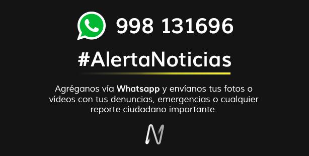 #AlertaNoticias también vía Whatsapp. Envíanos fotos o videos de lo que ocurre ► https://t.co/haCybZb4nu https://t.co/RtdVWo93GP