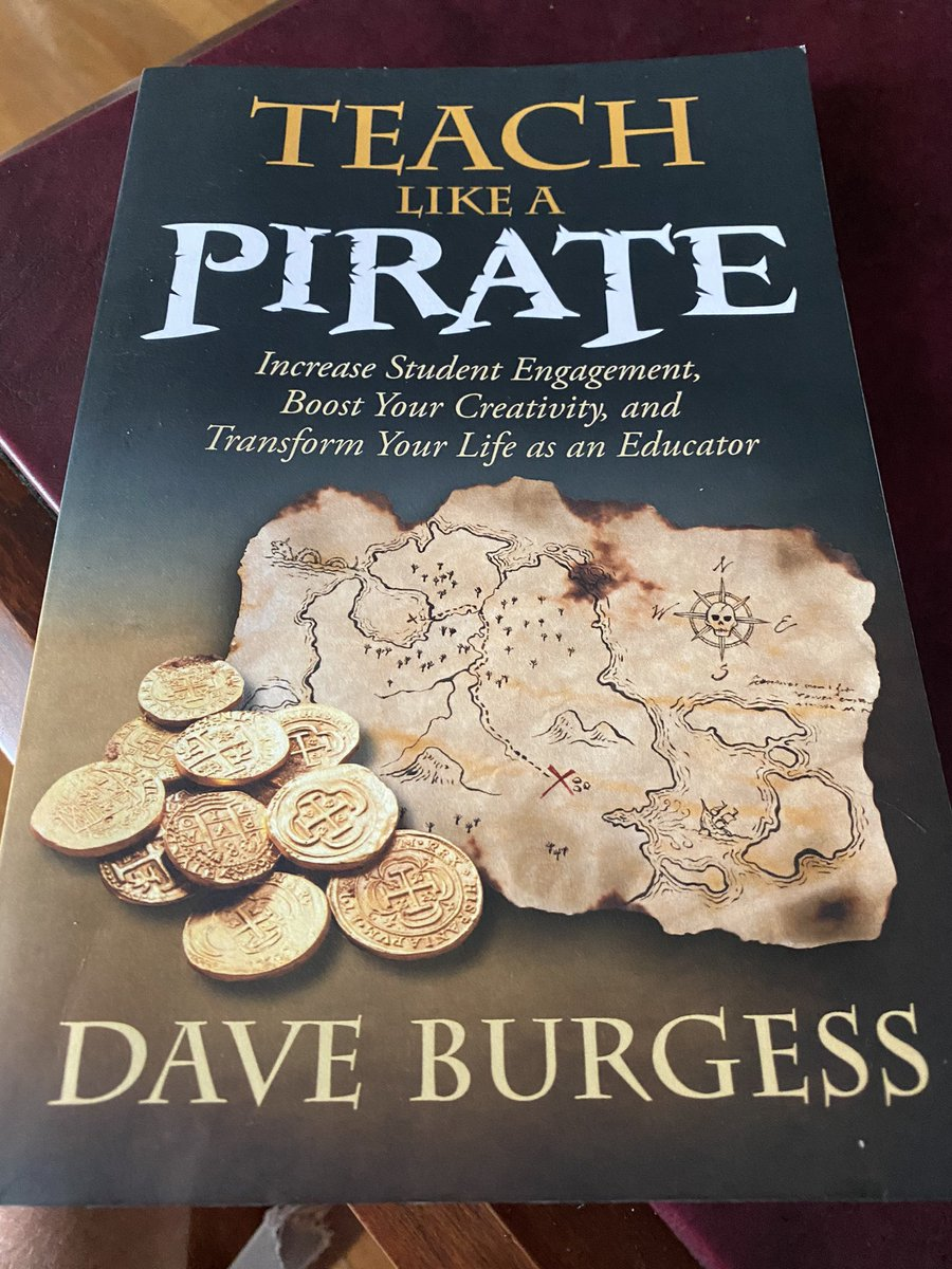 Getting excited to connect with @burgessdave Sunday night at 7 pm EST.   Please join us for this conversation about engagement and creativity in the classroom!  @CMSPrincipal1 @cms_grizzlies @DMS_LeadLearner @ProfJPizzo @Erik_Youngman @RitaWirtz @TheRealLindsay2 @ClassTechTips https://t.co/A6kWthlNKd