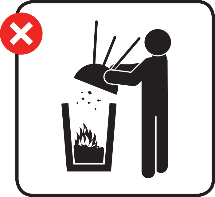 BBQ for lunch? Before you light up your BBQ, think about how you will dispose of it safely.   BBQ coals can stay hot long after you've finished cooking and can even reignite.  For more information about disposing #BBQs visit https://t.co/uffnAQVaYo #leaveonlyyourfootprints https://t.co/8OVMIT9lC6