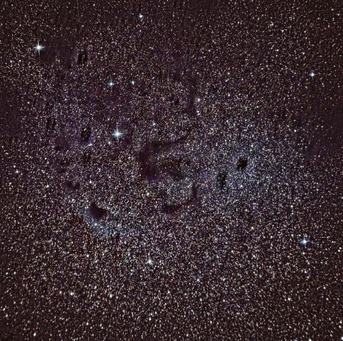 #Barnard72 luego de una hora de exposición con una Nikon D600 son algunas basuras en el sensor.  #Skywatcher 150/750 Iso 1600 https://t.co/eHN9DDj8ND