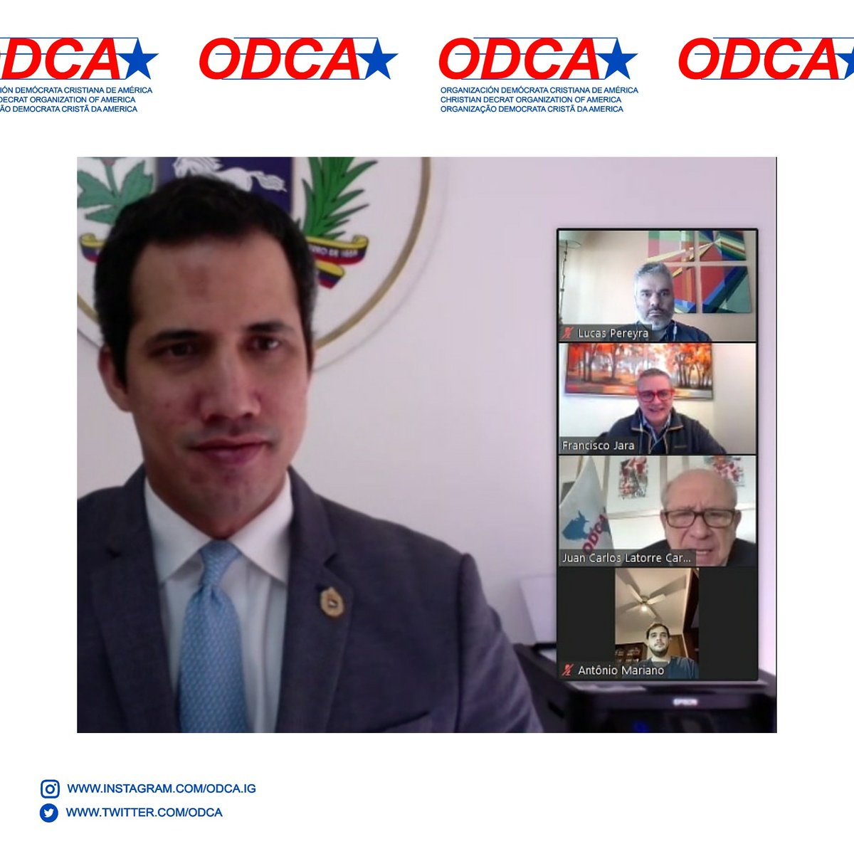 ODCA DEMANDA LA INTERVENCIÓN DE LA CORTE PENAL INTERNACIONAL PARA PERSEGUIR CRIMENES DE LESA HUMANIDAD EN #VENEZUELA   https://t.co/nuCCSHVEaG  @jguaido @Presidencia_VE @AsambleaVE @ODCA @ONU_es @OEA_oficial @Almagro_OEA2015 @mbachelet @IntlCrimCourt #CPI https://t.co/YmKmAoeo87