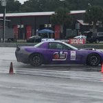 Jake Rozelle and Alex Peitz racing in the rain in their Corvettes at @NOLAMotorsports. @DriveUSCA #DriveOPTIMA #BecauseStreetCar @JRiShocks @Hypercoils @MaximaOils #UltimatePerformance #UPYours