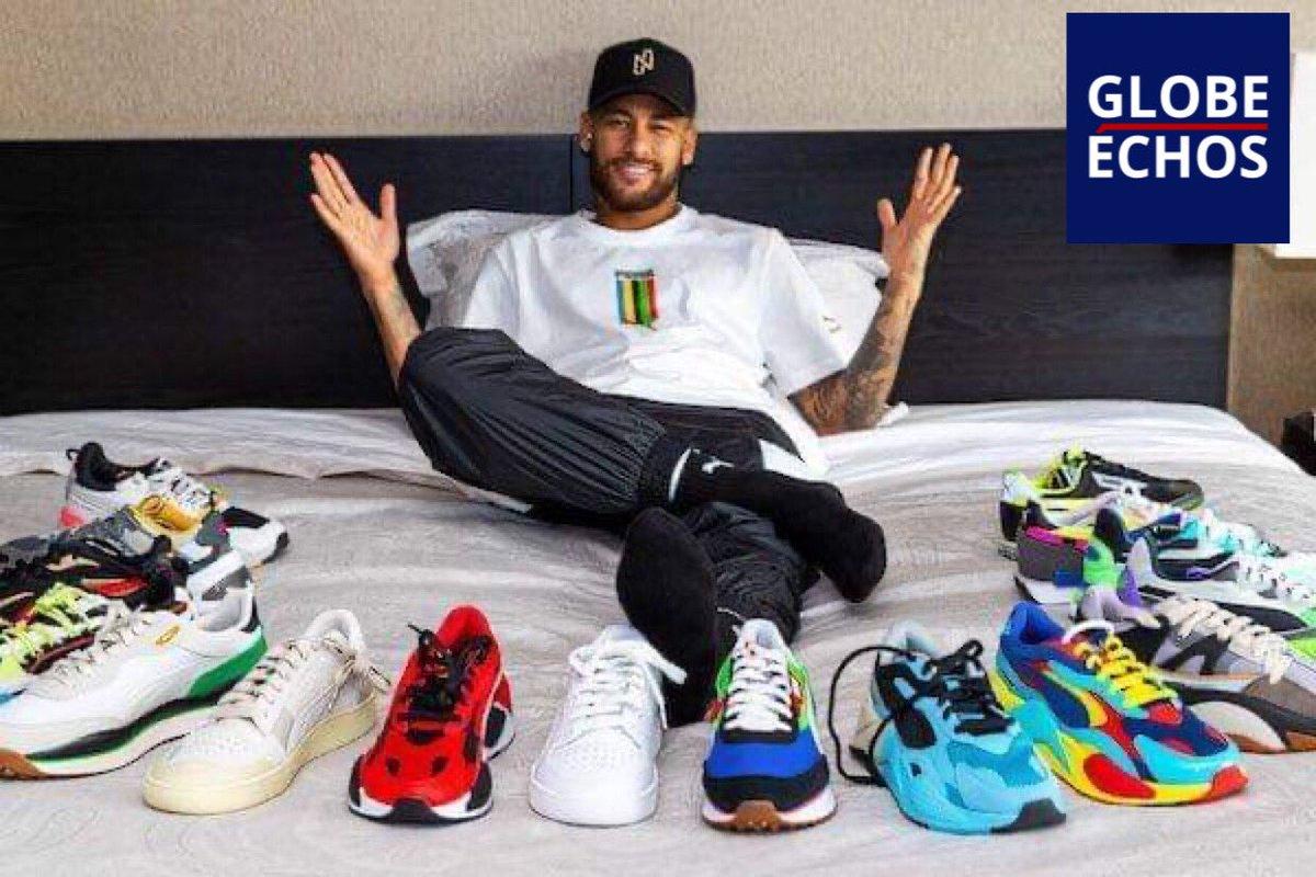 🇧🇷🇩🇪 25 M€ par an pour #Neymar avec #Puma c'est le chiffre de 23 millions de livres (25 M€), qui ne peut-être qu'une estimation , entre les clauses et #royalties, sur les produits vendus de cette collaboration. C'est quasiment trois fois plus que son deal avec #Nike #psg #paris https://t.co/909zqj8GA9