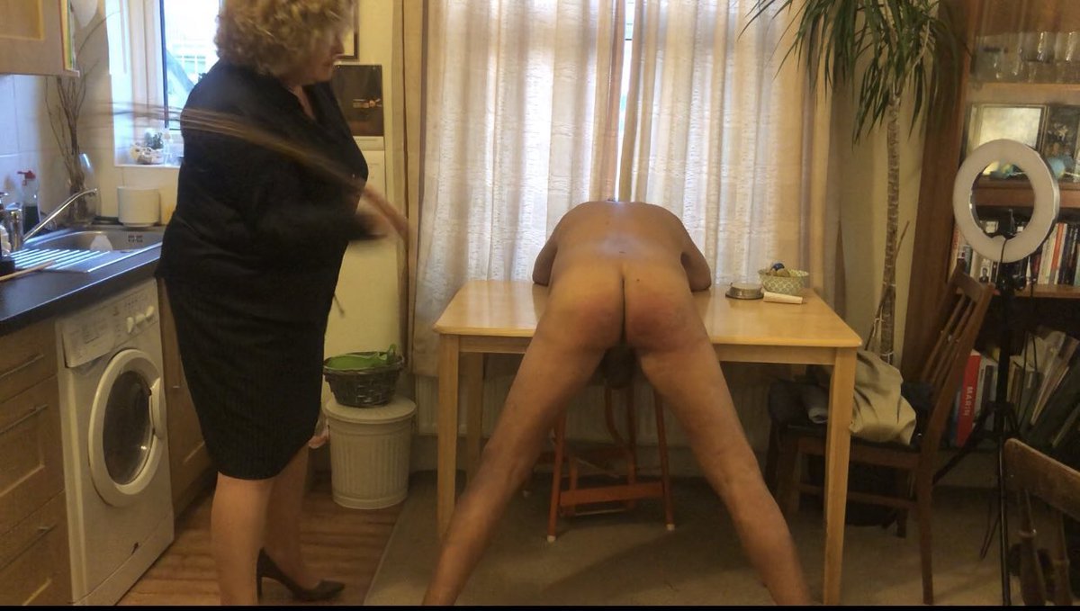 Brown took another very painful #birching this evening, with a long Elm-sprig birch. (+ a short #birch and #spanking with many other implements including the cane.) And my friend Miss Moneypenny @missmoney121 filmed and assisted me. How humiliating for the boy!  #FMspanking https://t.co/GeL5DN5jTj