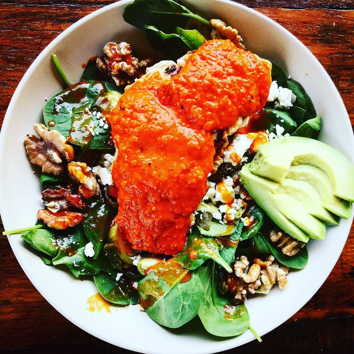 This beautiful dish proves you can eat healthy & not have to sacrifice flavor. Come enjoy a Harissa Chicken Power Bowl at Satellite tonight! 512-288-9994 for reservations or https://t.co/AjolCVgvAL to order & pick up #curbside. #satelliteatx https://t.co/vP6UraV9ic