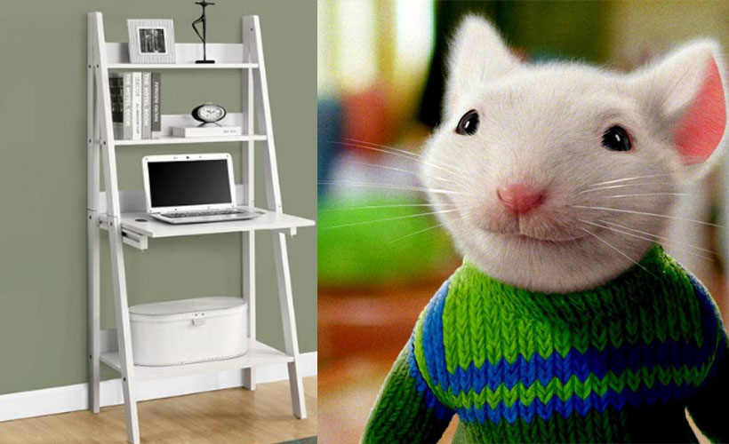 Chic Work-From-Home Desks That Would be Perfect for Stuart Little: ow.ly/Yqr550Bt3GX