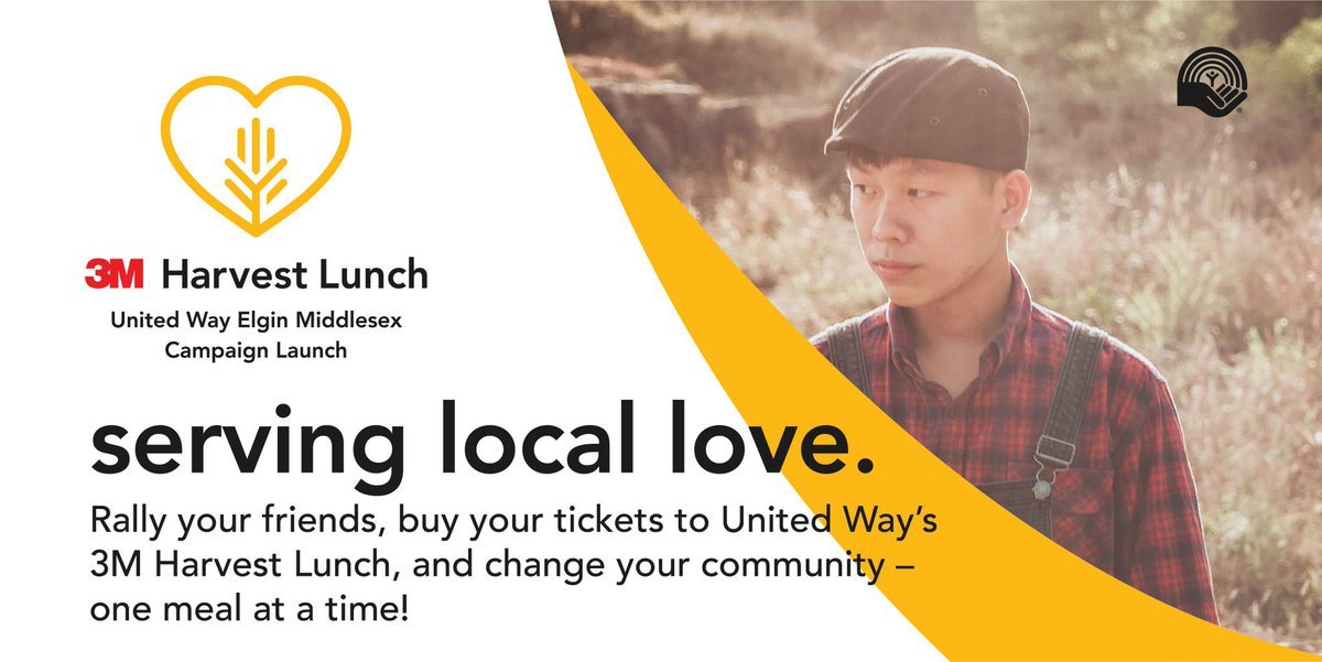 Help us reach our goal of providing 2,000 meals to our neighbours in need when you buy a ticket for #3MHarvestLunch ow.ly/XIAS50BldDz @3MCanada