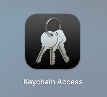 I didn't notice this at first, but Apple removed the garage door effect on the Keychain Access app ☹️ https://t.co/Ld7IGRqjlI