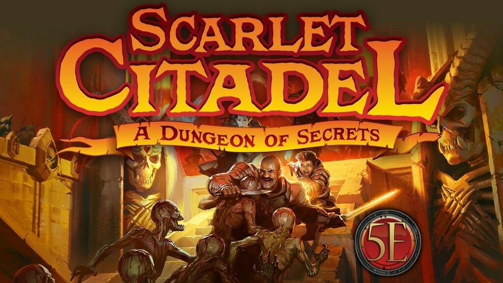 Kobold Press and Steve Winter (Tyranny of Dragons) are Kickstarting a classic multi-level dungeon with the dangerous Scarlet Citadel. https://t.co/o3ueC3XqfA https://t.co/7rqhvoLVes