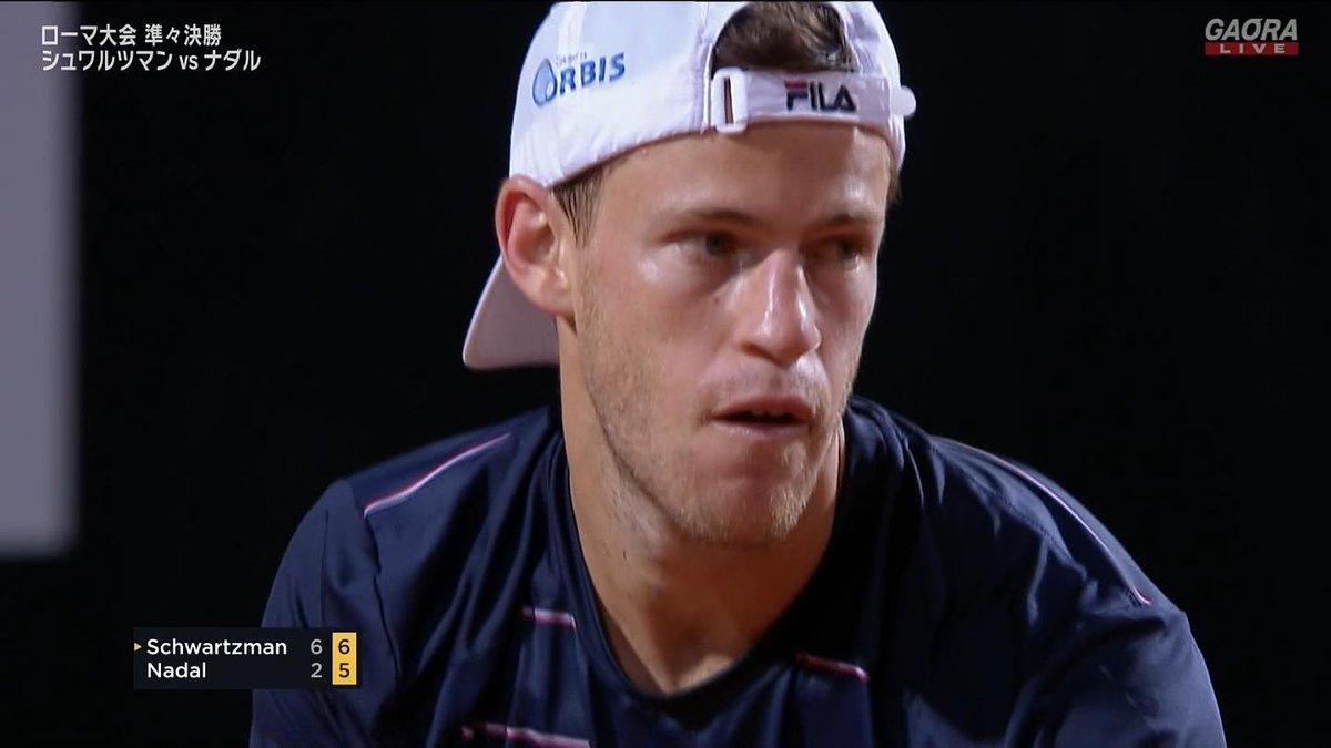 🇪🇸ナダル vs シュワルツマン🇦🇷 BNLイタリア国際 ATP Masters 1000 準々決勝🎾 https://t.co/VXfEnlzim4