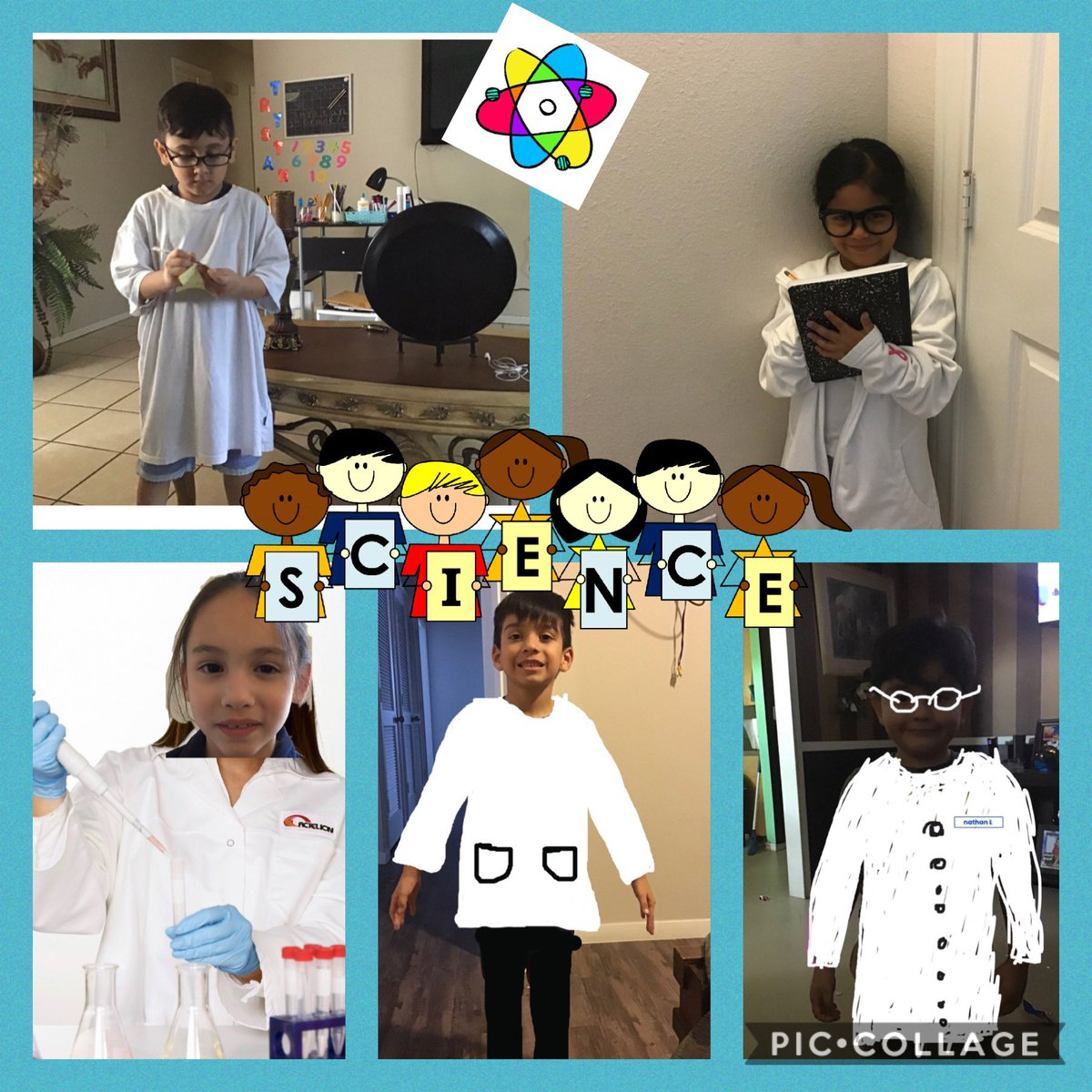 My Students enjoyed Dressing up as a scientist! Vestirse Como un Cientifico! #scienceprocess #IB #knowledgeable #dualLang #bilingualProud @perezpioneers https://t.co/e82YxoEog6