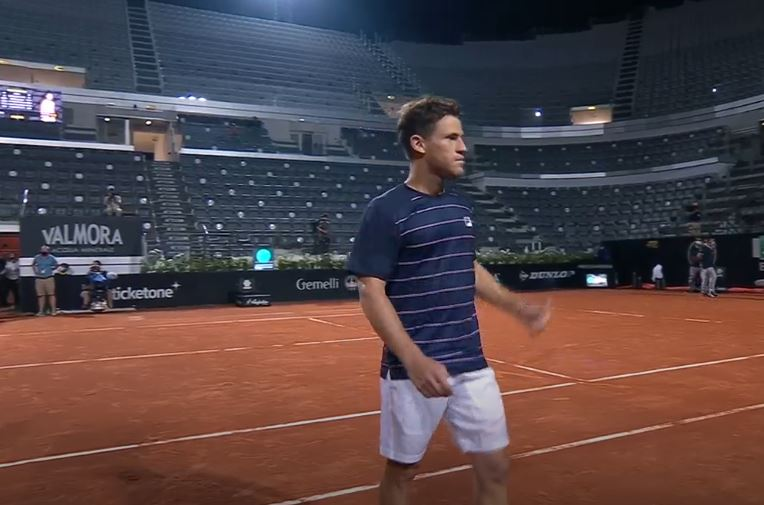 Congratulations @dieschwartzman for your fantastic performance and victory against @RafaelNadal at #ATPRome #IBI20. Your hard work and discipline during the quarantine paid off! You'll do great at #RolandGarros. #tennis #ATP #atptour https://t.co/3BOOmlxuFz