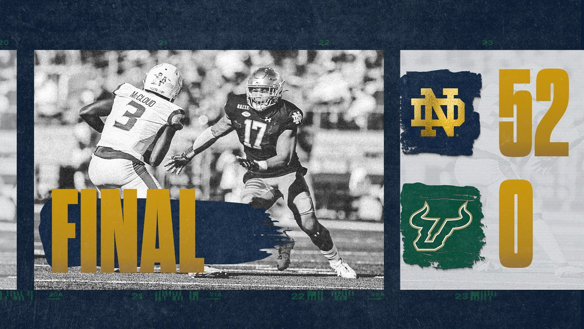 That is all from the Notre Dame Stadium! 🏟️  #GoIrish x #Rally https://t.co/ryY1z9Xki0