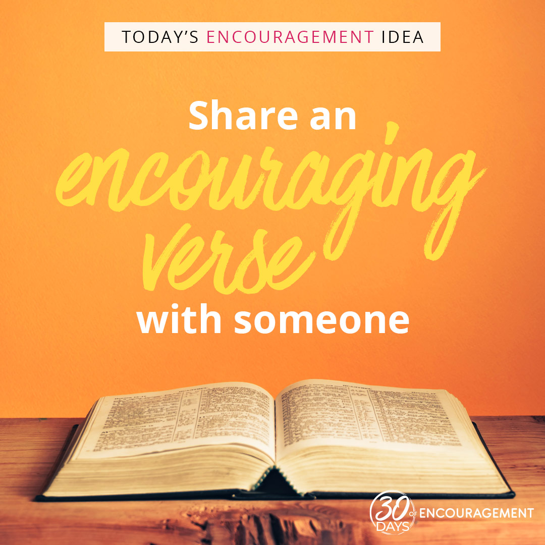 What's 1 verse that's been encouraging you lately? Help someone else #BeEncouraged and share that same verse with them!  Sign up here to get even MORE encouragement tips sent straight to your email! https://t.co/UCI44YN0Bs https://t.co/3IYpe8KHeM