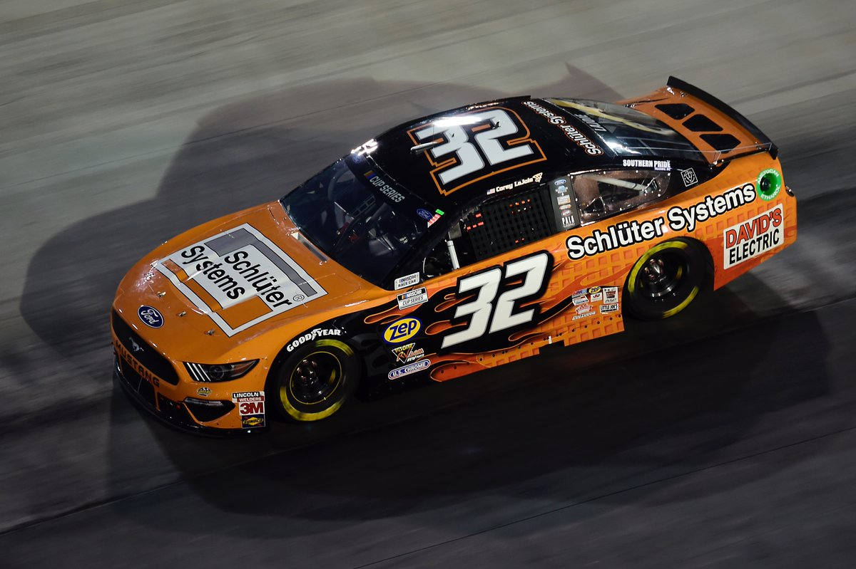 FINAL: @CoreyLaJoie finishes 33rd in the @schluterNA Ford at @BMSupdates. https://t.co/YFzkAjcP6i