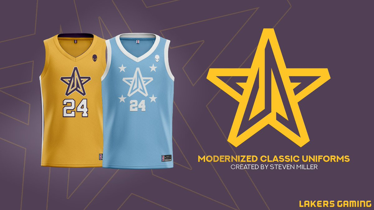 Another retro jersey modernization but this time for @LakersGaming 24 for Kobe. #ripkobe https://t.co/k2jRmwgheu
