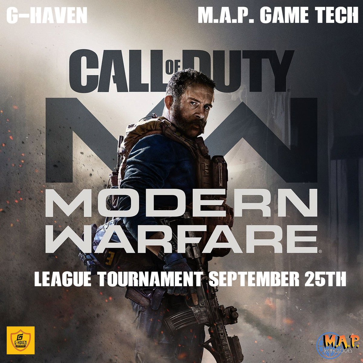 You think you can take on our pro team in COD Warzone?! Come at us and Bring Yo Sticks!!! DM us to challenge the team #BringYoSticks #gaming #GhavenEsports #gamer #twitchstreamer #xbox #Monster #Activision #RedBull #ElectronicArts #Gamestop #Honda #cod #CoD2020 #CoDMW https://t.co/iLPow3n6tH
