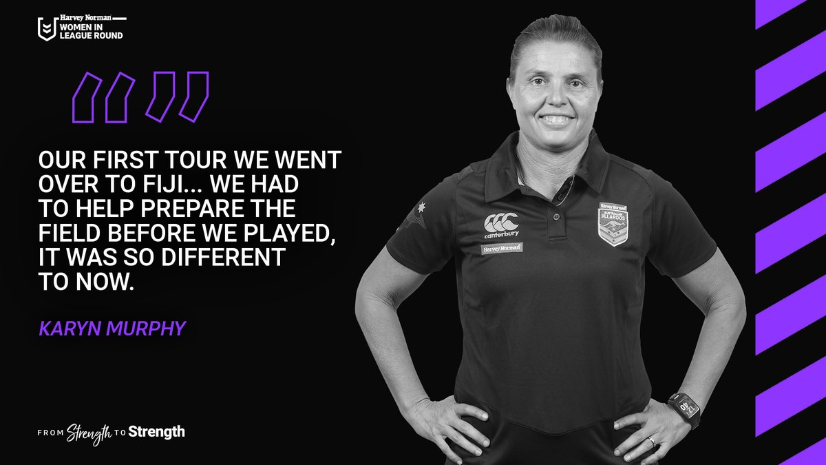The 🐐 has seen the women's game go from #StrengthToStrength.   @HarveyNormanAU #WomenInLeague https://t.co/8gTFmc2eUM