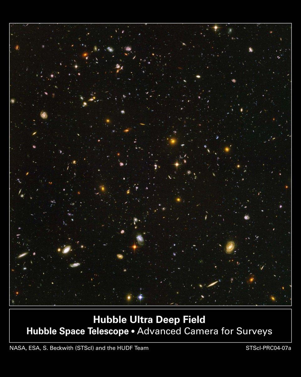 #कुतूहल #curiosity #UDFI  Ultra Deep Field Image या एका छायाचित्राने अवकाशाकडे बघण्याचा बदलला दृष्टिकोन  #Hubble - 'हबल टेलिस्कोप'ने सर्वात दूरवरचे काढलेले छायाचित्र  या माहितीसाठी....  फेसबुक लिंक - https://t.co/nRpF4Q7NTZ किंवा ब्लॉग लिंक - https://t.co/PEuBF41oiN https://t.co/hRLgelBRxO