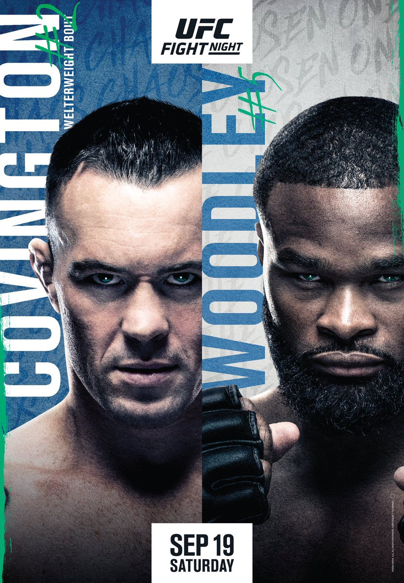 #NowWatching - UFC On ESPN+ 36: Covington Vs. Woodley #UFC #UFCOnESPNPlus36 #UFCFightNight #UFCLasVegas #ESPN #ESPNPlus #MMA https://t.co/LbnSfatYPQ