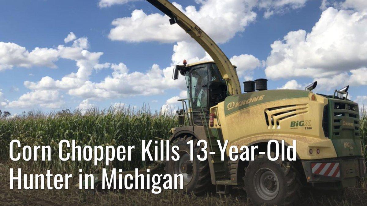 Authorities believe the teen fell asleep in the corn field while deer hunting. #meateater #fueledbynature