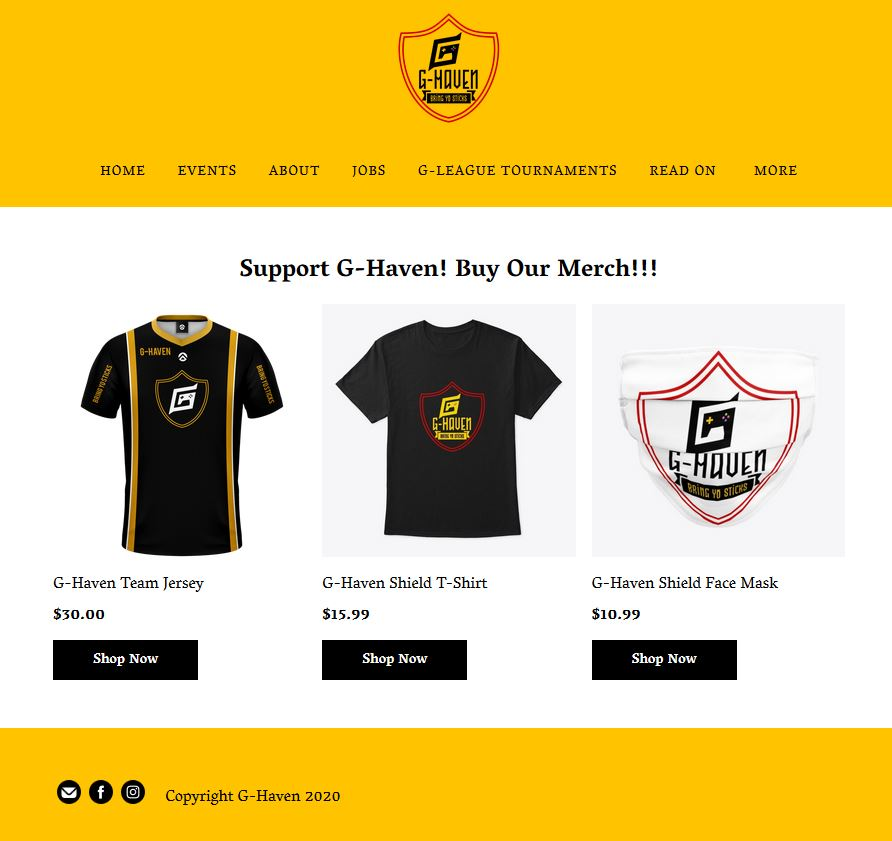 Link to our Merch Store:  https://t.co/7nSZ6XLawQ #BringYoSticks #gaming #GhavenEsports #twitch #twitchaffiliate #cod #twitch #gaming #gamer #twitchstreamer #ps #streamer #youtube #xbox #Monster #Activision #RedBull #ElectronicArts #Gamestop #Honda https://t.co/HN2YTnSXc0