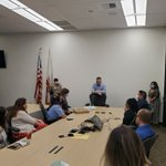 Image for the Tweet beginning: Sheriff Villanueva visited the Sheriff's