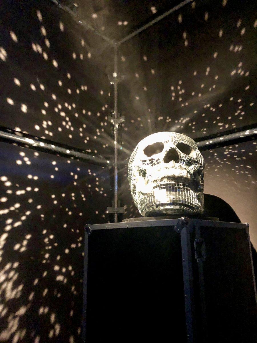 Disco Skull.  #Paris #France #Expo #MusicExpo #Electronic #Disco #Skull #Beauty #TravelPhotography https://t.co/iBvdUdwc6Q