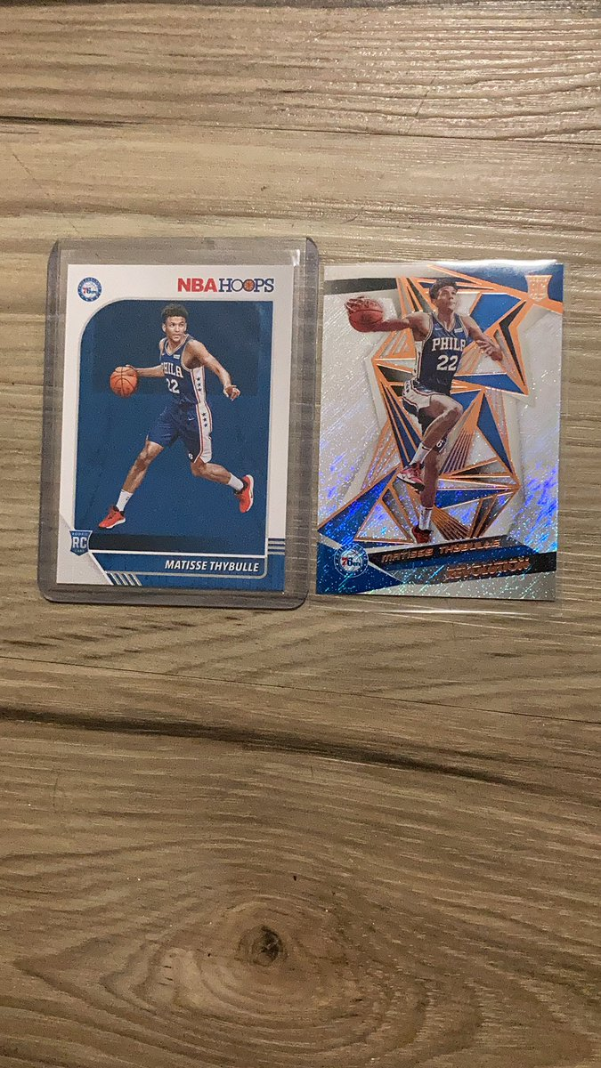 Matisse Thybulle lot $5 PWE or add for bubble mailer @HobbyConnector #thybulle #sixers  Retweets Appreciated https://t.co/x57LDdEtcl