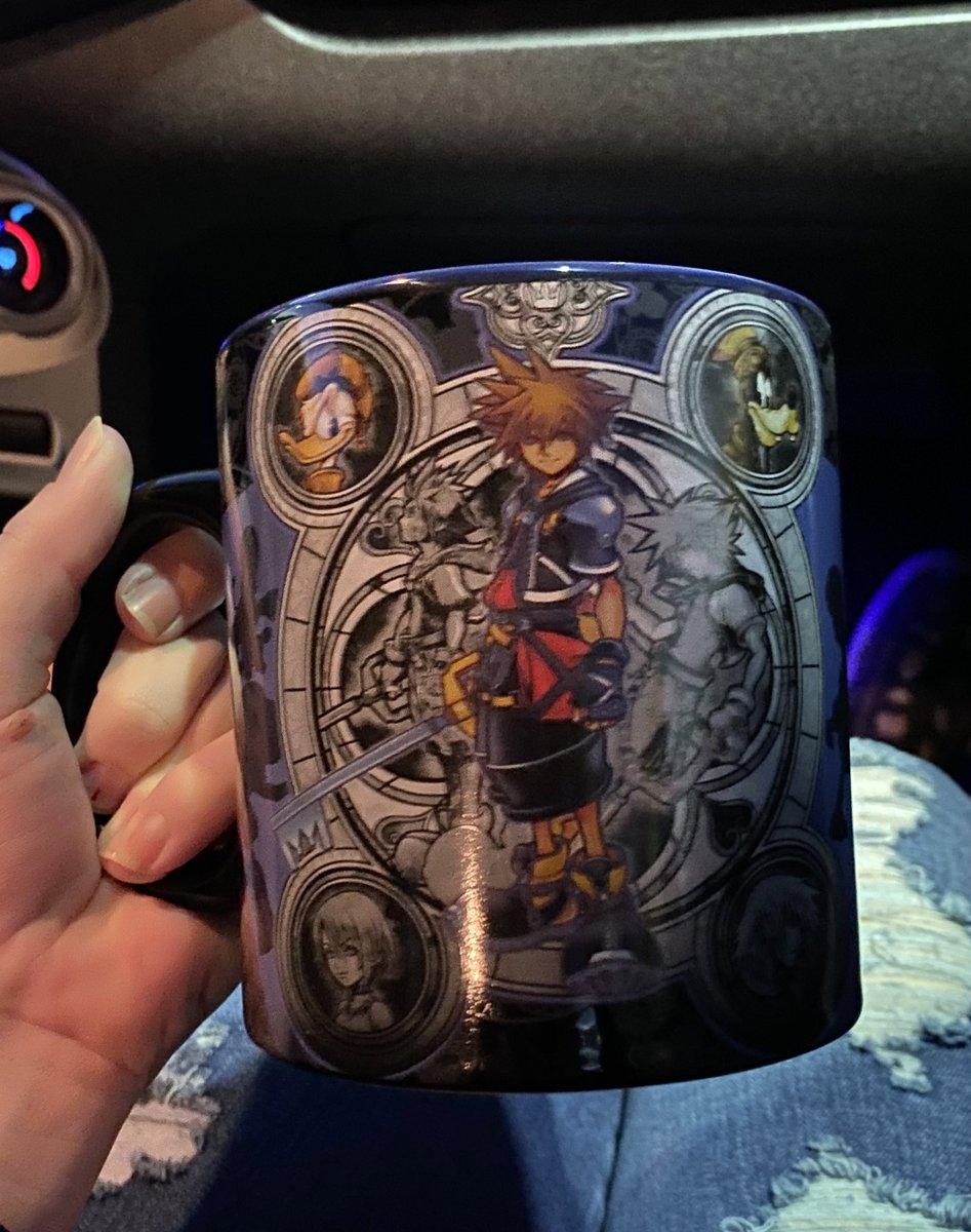 We found this mug at Spirit Halloween 😱
