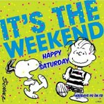 Image for the Tweet beginning: Happy Saturday! Don't forget we