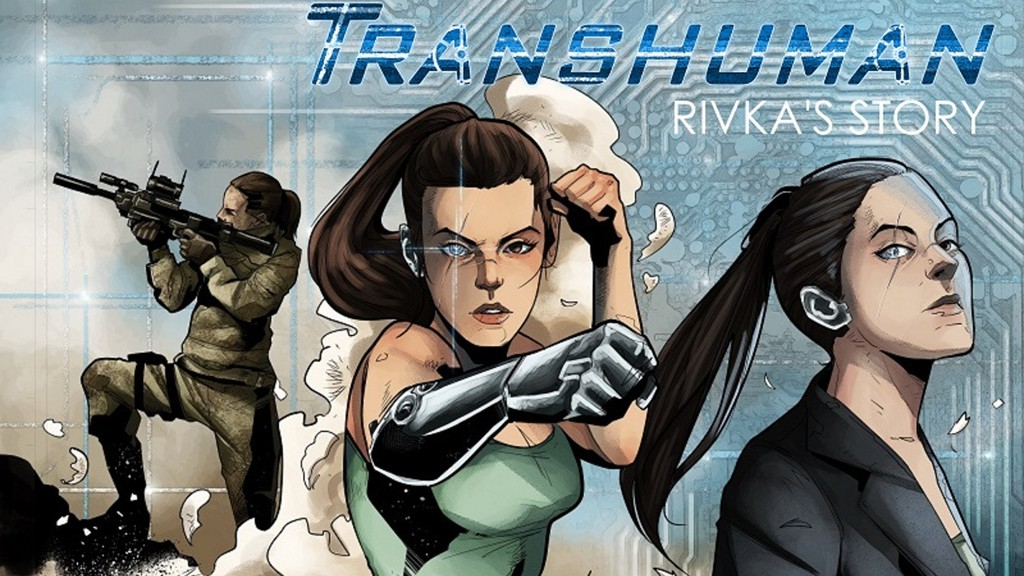 Transhuman is a 60 page fully coloured GN. In a world where the body can be replaced with cybernetics, what does it mean to be human?  Read more 👉 https://t.co/EX4L6W2aGw   @@sigmatestudio   #Transhuman #StephenKok #RivkaSStory #crowdFunding https://t.co/7drhs2qfrM