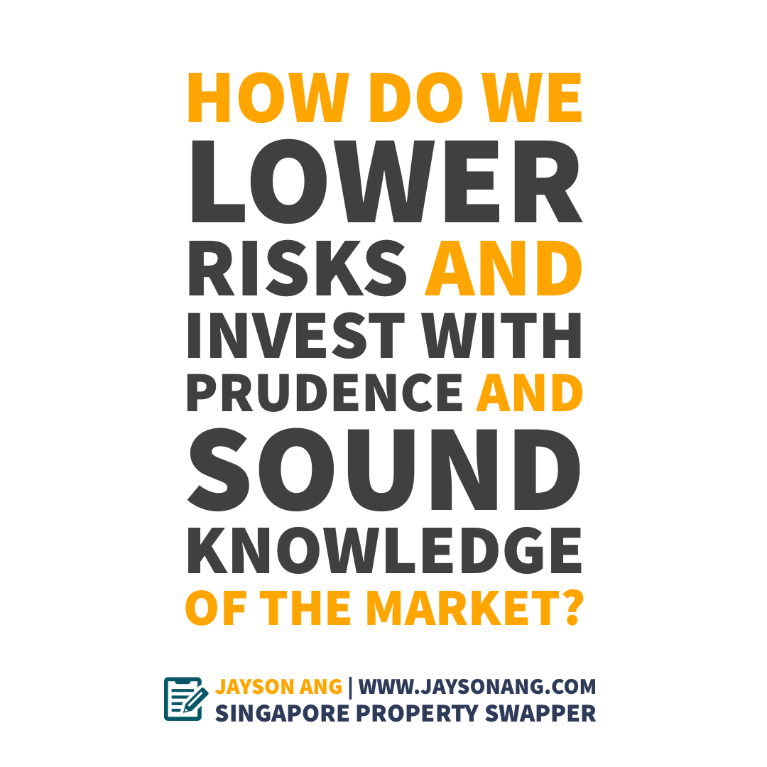 How Do We Lower Risks & Invest with Prudence and Sound Knowledge of the Market?  #Investment #property #propertyadvisor #propertyconsultant #Singapore #realestate #sgproperty #valueproperty #straitstimes #hdb #resale #condo #MRT #family #sg https://t.co/SFBBIDD0bY