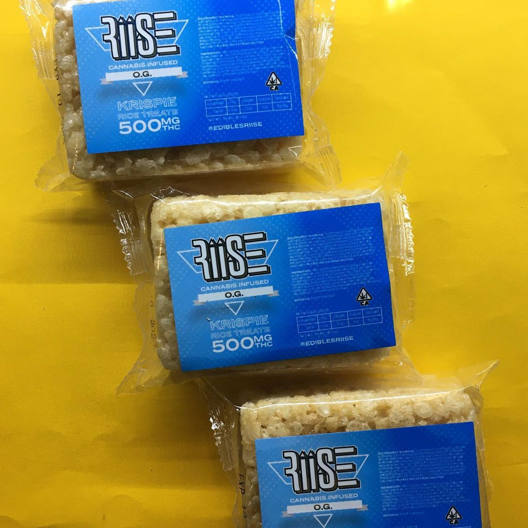 #Riise Krispies are the perfect edible if you're looking for a classic Cannabis Cereal bar, with 500mg in each bar, you wont be disappointed! #THC #edibles https://t.co/A9mpEf7Db4
