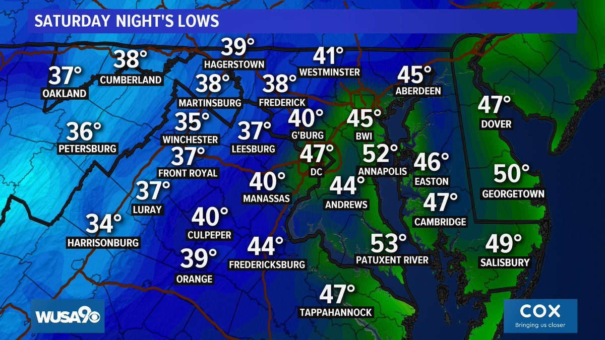 See you all on Sunday after football. And stay warm tonight! https://t.co/KUHKNnIEtX @wusa9 @hbwx @TenaciousTopper @MiriWeather #DCwx #MDwx #VAwx #WUSA9Weather #WashingtonDC  #DMV https://t.co/M4uR6tXNZG