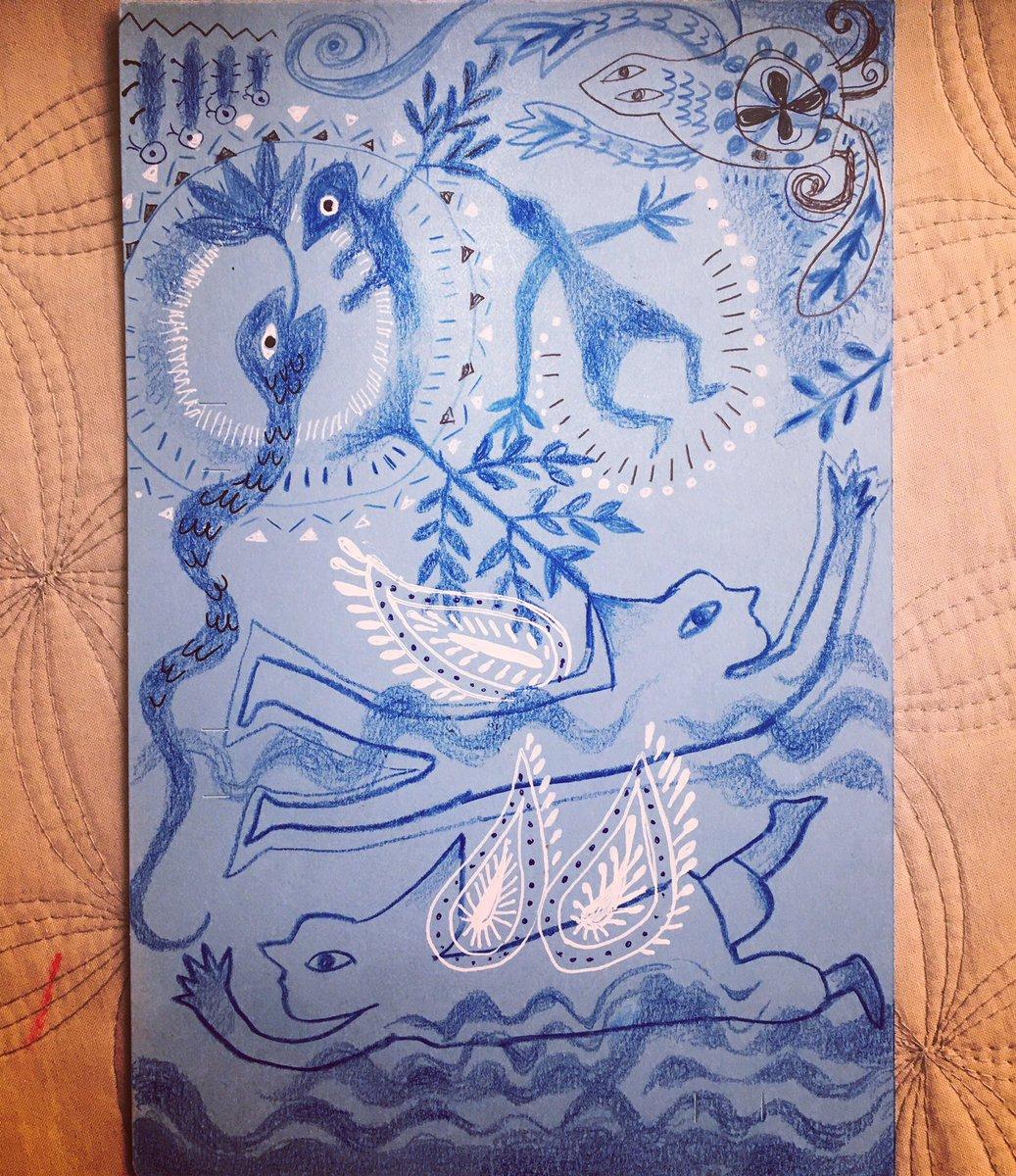 Awkward, but fly together ぎこちなく、でも一緒に飛ぶ #art #artgallery  #taracyanel #mindsketch https://t.co/Lz4ZPtTguZ