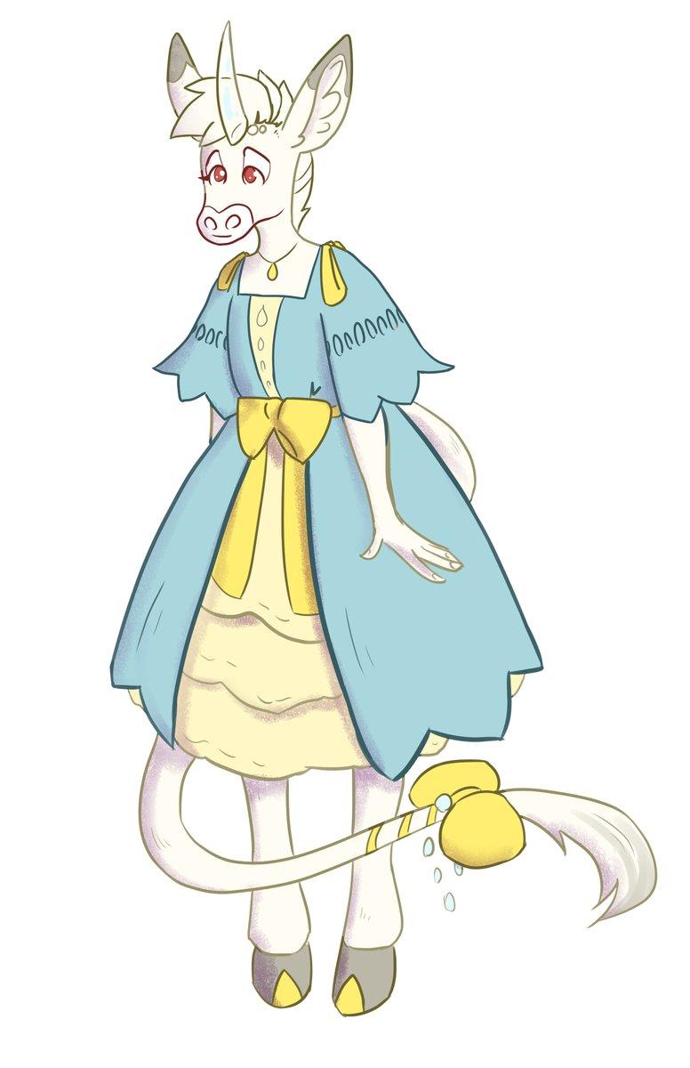 Teen albino donkey-corn... aaaa I imagine her in a sort of uber fantastical world that would work well with a children's chapter book series.  #illustration #art #unicorn #donkey #cute #characterdesign #originalcharacter #concept #furry #furryart #furryfandom #digitalart https://t.co/CxiSsxO0jR