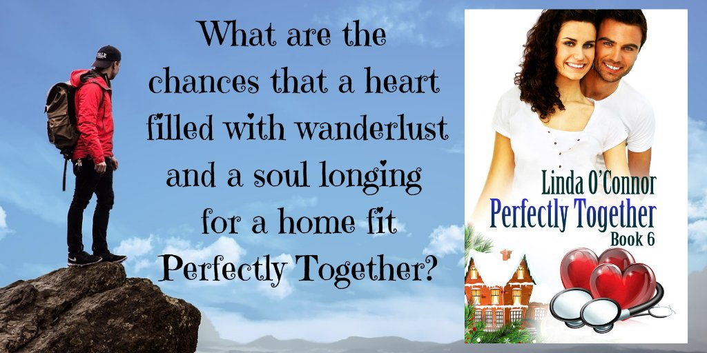 They fit perfectly together . . . if only they were in the same place. PERFECTLY TOGETHER https://t.co/JEf2ZWm3ms #romcom #doctors #KU #smalltownfun https://t.co/Jk1VnXjtFn
