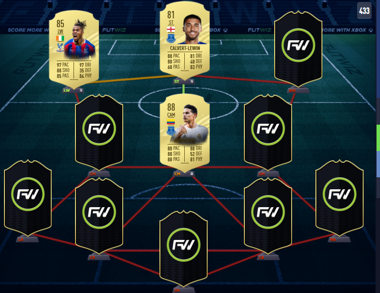 After Matchweek 2 - Gameday 1 this is what our Team of The week consists of thus far!    (FUTWIZ don't have the full database yet, so ratings are either an inform boost if they have their card in the database or from their highest version of FIFA20)  #PremierLeague #FIFA21 https://t.co/ooNGFhHvqx