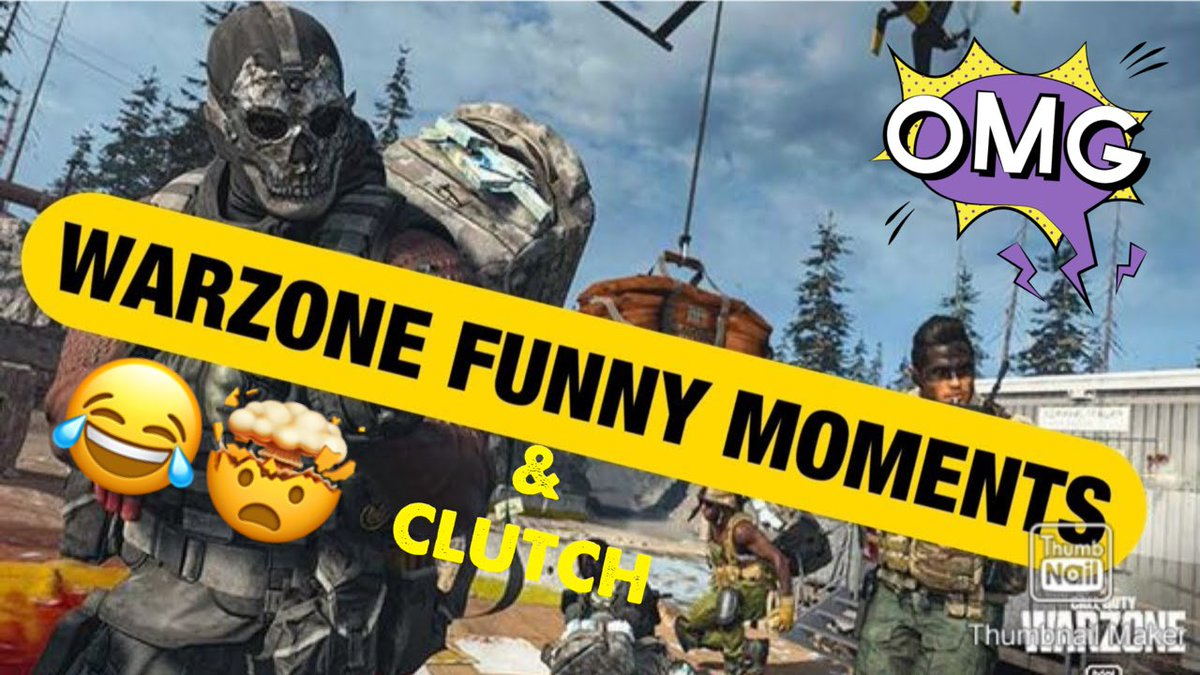 New Video Alert 🔥🔥🔥 Go like and comment🤙🏾 QUESO'S FUNNY/CLUTCH WARZONE CLIPS!!!  https://t.co/tXYjoS2GEk #cod #CoDclips #CallOfDuty #ModernWarfare #Warzone #warzoneclips #subscribe #YouTubers #funny #clutch https://t.co/CNi8zO6HZ6