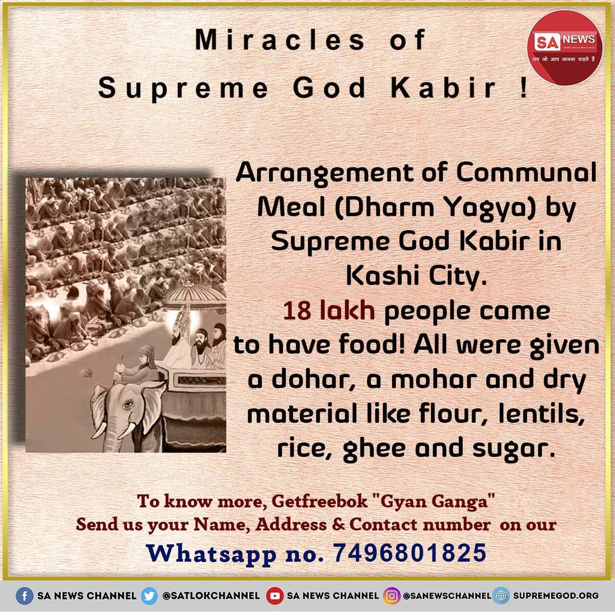 #SundayThoughts Kabir Saheb Ji tells in search of that liberation Brahma, Sur-Narmuni and deities got tired, to attain that serve Satguru  - @SaintRampalJiM  #GodMorningSunday  #SundayMotivation  #SundayFunday 🗝️🗝️❤️❤️ https://t.co/XGFI5nYTvm