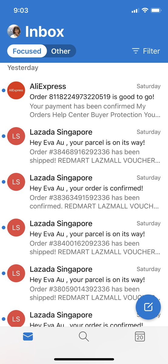 Sadly my New Normal on the weekend has amounted to this 😮  #lazada #shopping https://t.co/4lkDkdHoxe